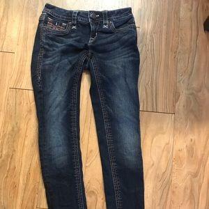 Woman's size 25 rock revival skinny jeans